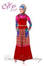 baju muslim elegan Pusat-Gamis-Terbaru-Esme-Classic-Enchanting-E-20408