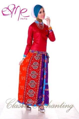 baju muslim modern Pusat-Gamis-Terbaru-Esme-Classic-Enchanting-E-20415
