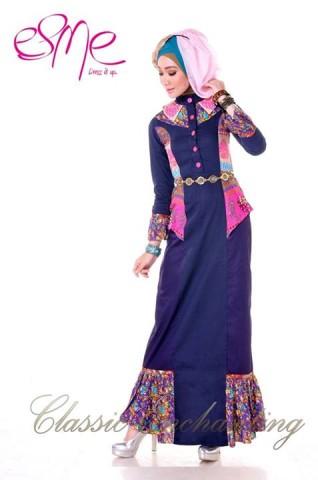 contoh baju muslim modern Pusat-Gamis-Terbaru-Esme-Classic-Enchanting-E-20416