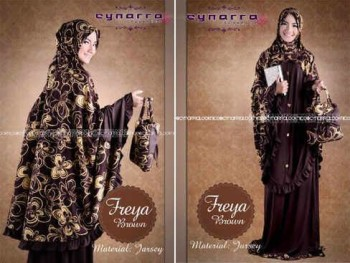 model baju gamis, Pusat-Gamis-Terbaru-Freeya-By-Cynarra-Brown