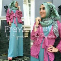 baju muslim pesta Pusat-Gamis-Terbaru-Freya-Light-Blue