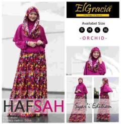 baju muslimah modern dan modis  Pusat-Gamis-Terbaru-Hafsah-Syar'i-by-El-Gracia-Orchid