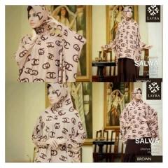 baju muslim pesta wanita Pusat-Gamis-Terbaru-Layra-Salwa-Brown