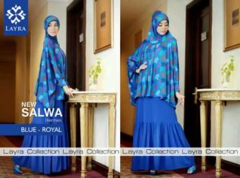 Pusat-Gamis-Terbaru-Layra-Salwa-Vol.II-Blue-Royal