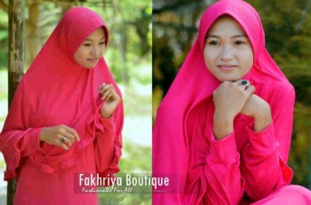gamis hijab style Pusat-Gamis-Terbaru-Muzdalifah-by-Fakhriya-Boutique-Fanta