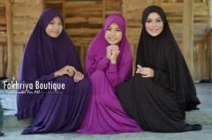 gamis hijab syar'i Pusat-Gamis-Terbaru-Muzdalifah-by-Fakhriya-Boutique-Ungu-Tua-Violet-Black