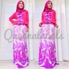 baju muslimah terbaru Pusat-Gamis-Terbaru-New-Velash-by-Queena-Fanta