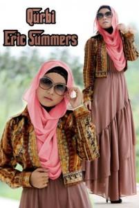 baju gamis pesta terbaru Pusat-Gamis-Terbaru-Qurbi-By-Eric-Summer-Coco-Milk