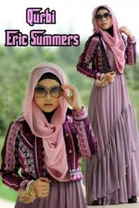 busana muslim modern wanita Pusat-Gamis-Terbaru-Qurbi-By-Eric-Summer-Lavender