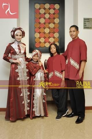 baju sarimbit 2014 Pusat-Gamis-Terbaru-Rajna-11-Sarimbit-Marun