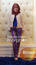 baju muslim anak dropship Pusat-Gamis-Terbaru-Sakura-Pants-by-Marghon-Brown