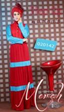 busana formal wanita Pusat-Gamis-Terbaru-Step-Up-Aspire-Merah