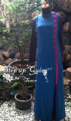 baju muslimah rabbani  Pusat-Gamis-Terbaru-Step-Up-Quin-Tosca
