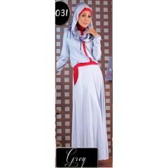 baju muslimah anak Pusat-Gamis-Terbaru-Step-Up-Scoot-Grey