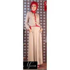 baju muslimah trendy Pusat-Gamis-Terbaru-Step-Up-Scoot-Mocca