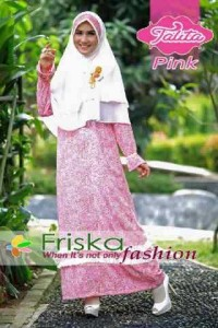 busana muslim tahun 2014 Pusat-Gamis-Terbaru-Talita-by-friska-Pink