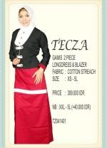 baju muslim terbaru 2014 Pusat-Gamis-Terbaru-Tecza-TZ041401