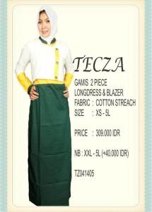 model baju muslim modern terbaru 2014 Pusat-Gamis-Terbaru-Tecza-TZ041405