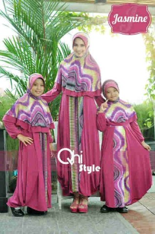 baju muslim dress  Pusat-Gamis-terbaru-Jasmine-by-Qhi-style-Fanta