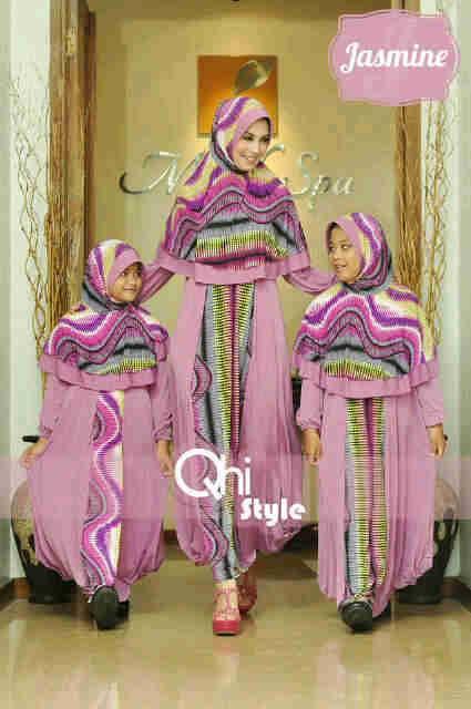 Jasmine By Qhi Style Lavender Baju Muslim Gamis Modern