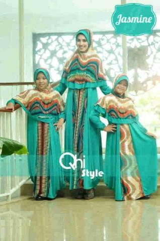 baju muslim yang lagi trend Pusat-Gamis-terbaru-Jasmine-by-Qhi-style-Tosca