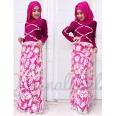 baju muslimah trendy Pusat-Gamis-terbaru-Queena-Vereline-Fanta