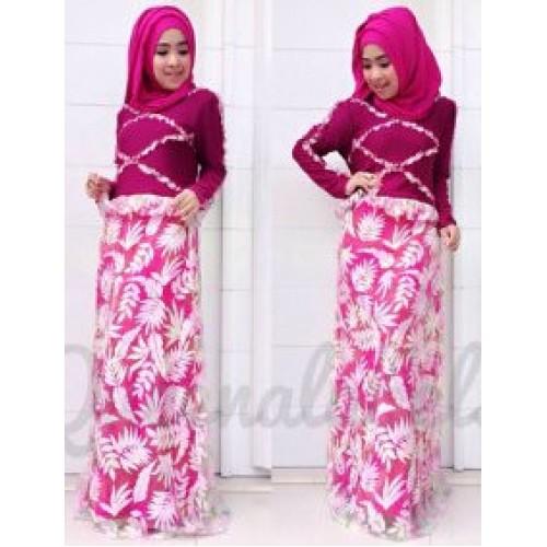 Vereline Dress Fanta Baju Muslim Gamis Modern