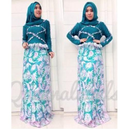 Vereline Dress Tosca Baju Muslim Gamis Modern