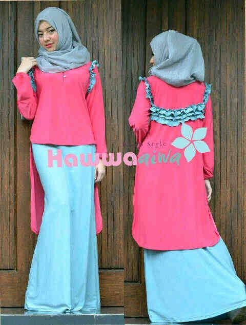 Aquila By Hawwaiwa Fanta Baju Muslim Gamis Modern