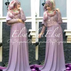 baju muslim terbaru online Pusat-Gamin-terbaru-Elsa-by-Kynara-Lavender