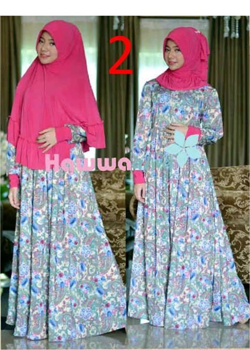 Akifah Vol 2 By Hawwaaiwa 2 Baju Muslim Gamis Modern