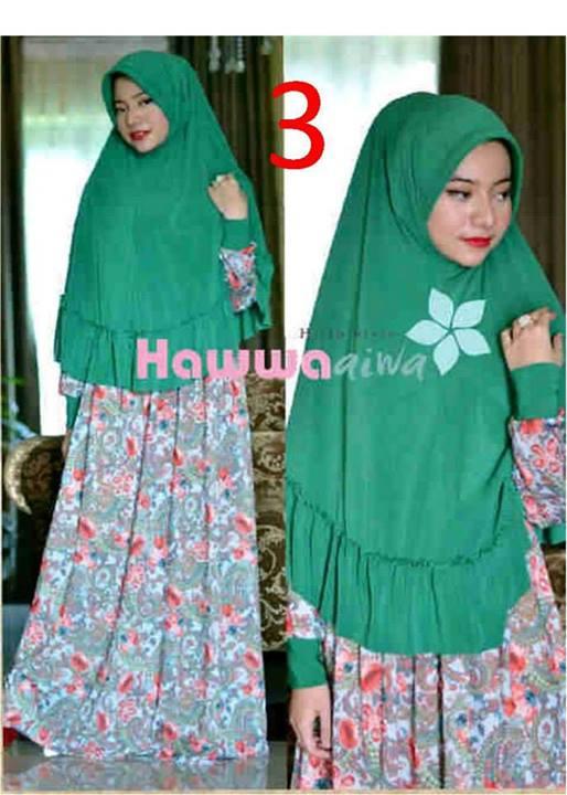 Akifah Vol 2 By Hawwaaiwa 3 Baju Muslim Gamis Modern