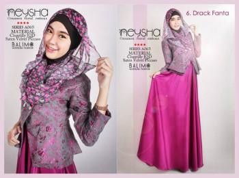 baju kerja muslimah modis, Pusat-Gamis-Terbaru-Balimo-Neysha-A065-6-Drack-Fanta