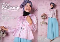 model baju terbaru, Pusat-Gamis-Terbaru-Balimo-Rizami-Blue-Sky