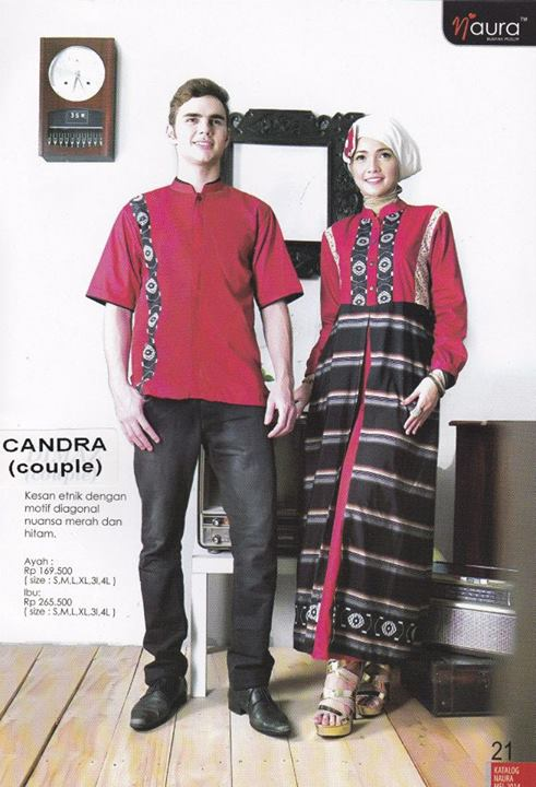 Candra By Naura Baju Muslim Gamis Modern