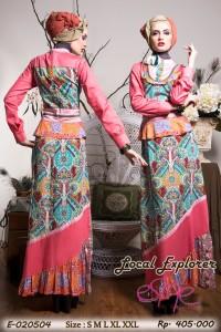 baju muslim modern trendy Pusat-Gamis-Terbaru-Esme local-explorer-E-020504