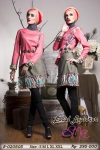 baju muslim modern Pusat-Gamis-Terbaru-Esme local-explorer-E-020505