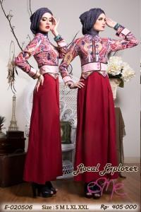 dress pesta muslim, Pusat-Gamis-Terbaru-Esme local-explorer-E-020506