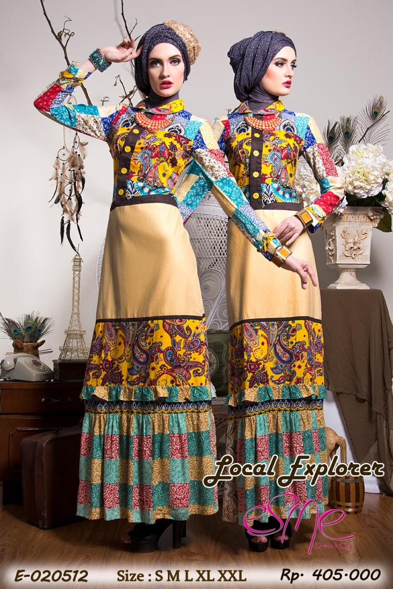 Esme Local Explorer E 20512 Baju Muslim Gamis Modern