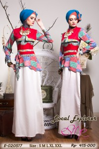 dress pesta muslim, Pusat-Gamis-Terbaru-Esme local-explorer-E-020517