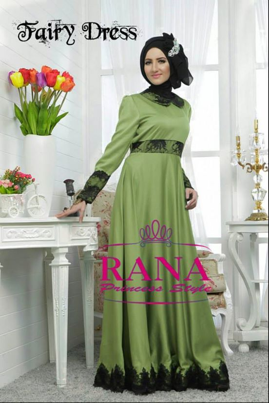 Fairy Dress By Rana Hijau Baju Muslim Gamis Modern