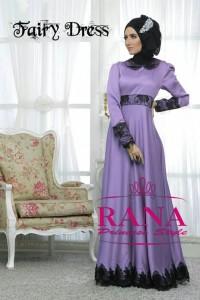 fashion baju muslim modern, Pusat-Gamis-Terbaru-Fairy-Dress-Lavender