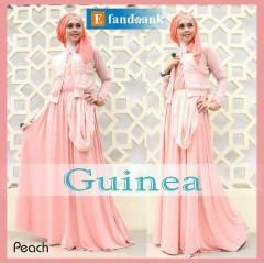 baju gamis cantik, Pusat-Gamis-Terbaru-Guinea-by-Efandoank-Peach