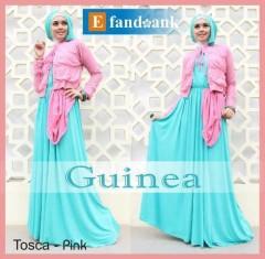 Model Gamis Muslimah modern,Pusat-Gamis-Terbaru-Guinea-by-Efandoank-Tosca-Pink