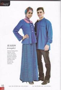 baju muslim modern Pusat-Gamis-Terbaru-Haris-by-Naura
