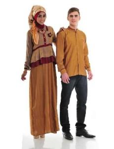 model baju muslim modern terbaru Pusat-Gamis-Terbaru-Husna-Sarimbit-by-Naura