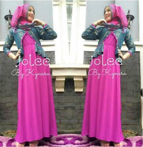Jolee By Kynarra Fanta Baju Muslim Gamis Modern