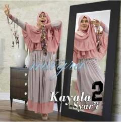 baju muslim dress, Pusat-Gamis-Terbaru-Kayala-by-Mayra-Kode-2