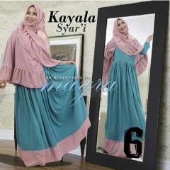 Model Baju gamis muslimah, Pusat-Gamis-Terbaru-Kayala-by-Mayra-Kode-6