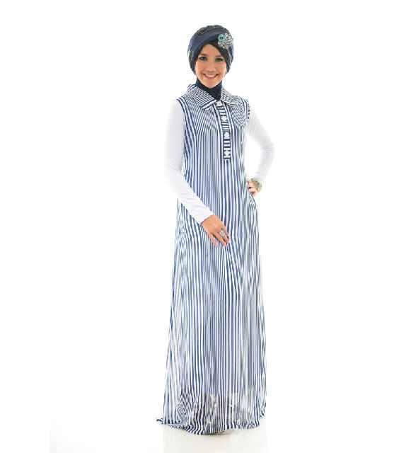 Lurina By Naura Baju Muslim Gamis Modern